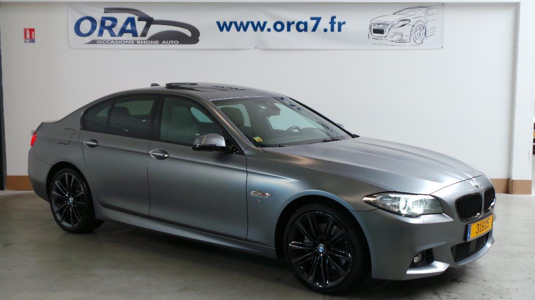 BMW SERIE 5 (F10) 535DA XDRIVE 313CH M SPORT d'occasion dans votre centre ORA7