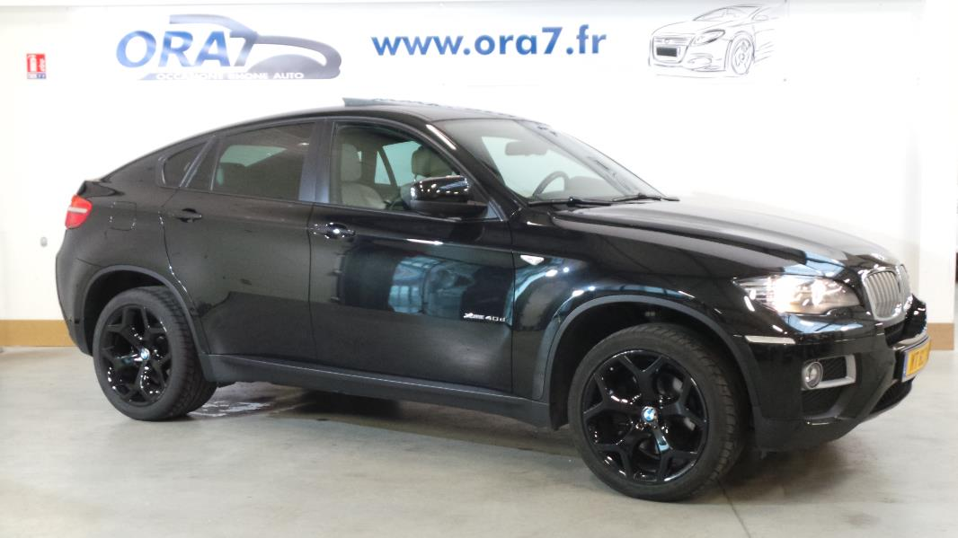 bmw x6 e71 xdrive40d exclusive 5 pl occasion lyon. Black Bedroom Furniture Sets. Home Design Ideas