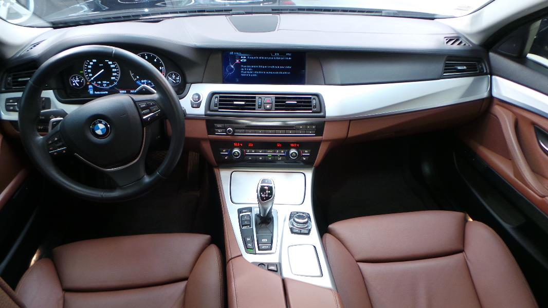 Bmw serie 5 touring f11 530d xdrive exclusive occasion for Bmw serie 7 interieur