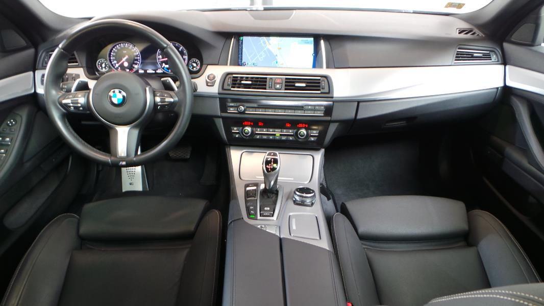 Bmw serie 5 f10 535da xdrive 313ch m sport occasion for Bmw serie 7 interieur