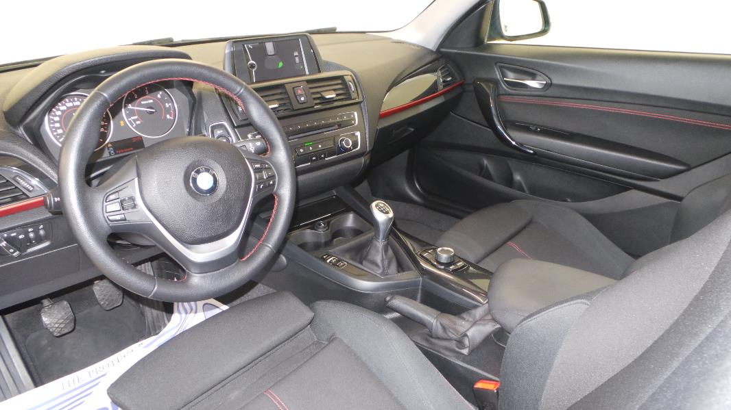 Bmw serie 1 f21 20 116d 116ch sport 3p occasion for Interieur serie 1