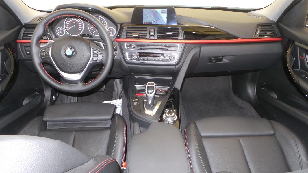Bmw serie 3 f30 328ia 245ch sport occasion mont limar for Bmw serie 7 interieur
