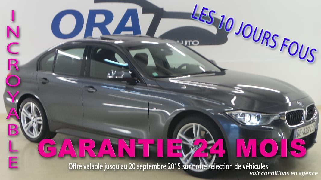 BMW SERIE 3 (F30) 318D XDRIVE 143CH M SPORT d'occasion dans votre centre ORA7