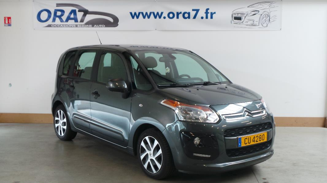 citroen c3 picasso 1 6 hdi90 confort occasion lyon. Black Bedroom Furniture Sets. Home Design Ideas