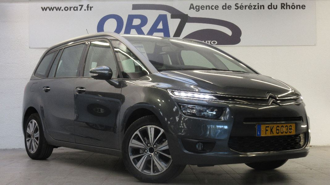 citroen grand c4 picasso bluehdi 150ch intensive occasion lyon s r zin rh ne ora7. Black Bedroom Furniture Sets. Home Design Ideas