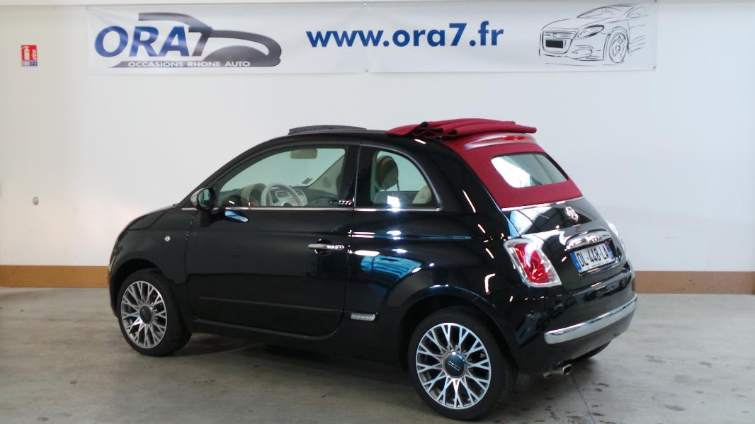 fiat 500c 1 2 8v 69ch lounge occasion lyon neuville sur sa ne rh ne ora7. Black Bedroom Furniture Sets. Home Design Ideas
