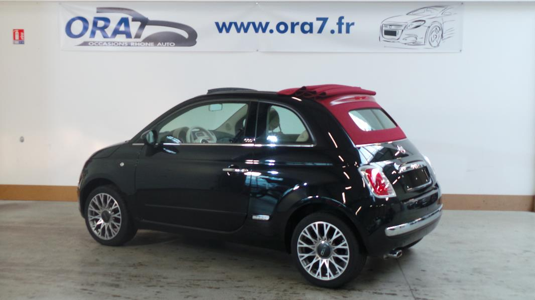 fiat 500c 1 2 8v 69ch lounge occasion lyon neuville sur. Black Bedroom Furniture Sets. Home Design Ideas
