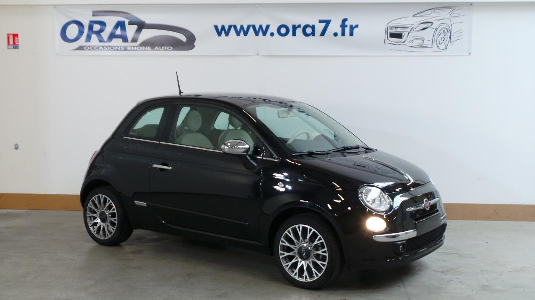 fiat 500 1 2 8v lounge stop start occasion lyon neuville sur sa ne rh ne ora7. Black Bedroom Furniture Sets. Home Design Ideas
