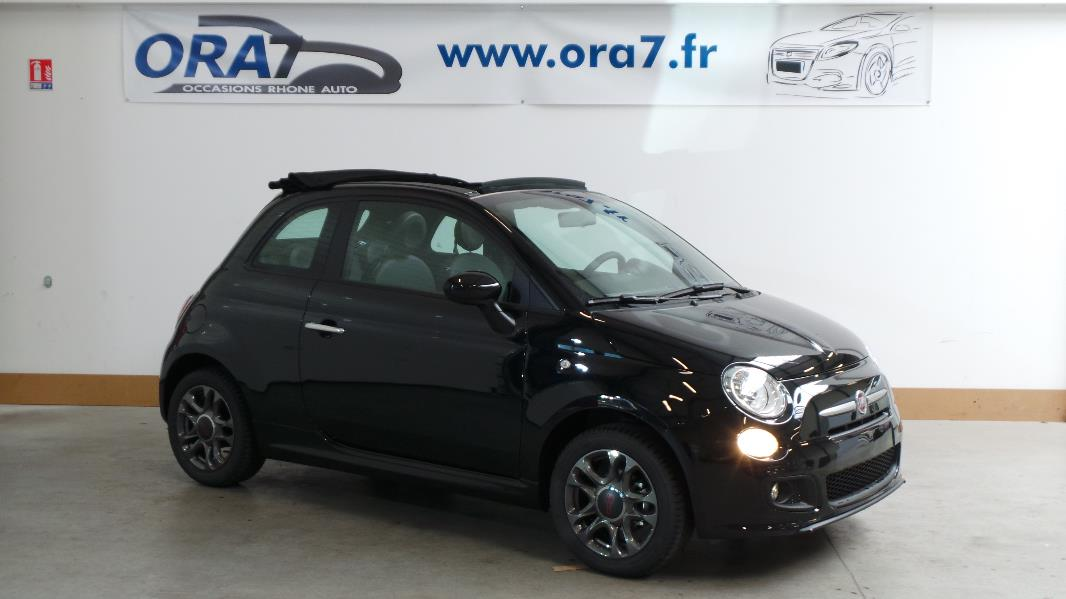 fiat 500c 1 2 8v 69ch s occasion lyon neuville sur sa ne rh ne ora7. Black Bedroom Furniture Sets. Home Design Ideas
