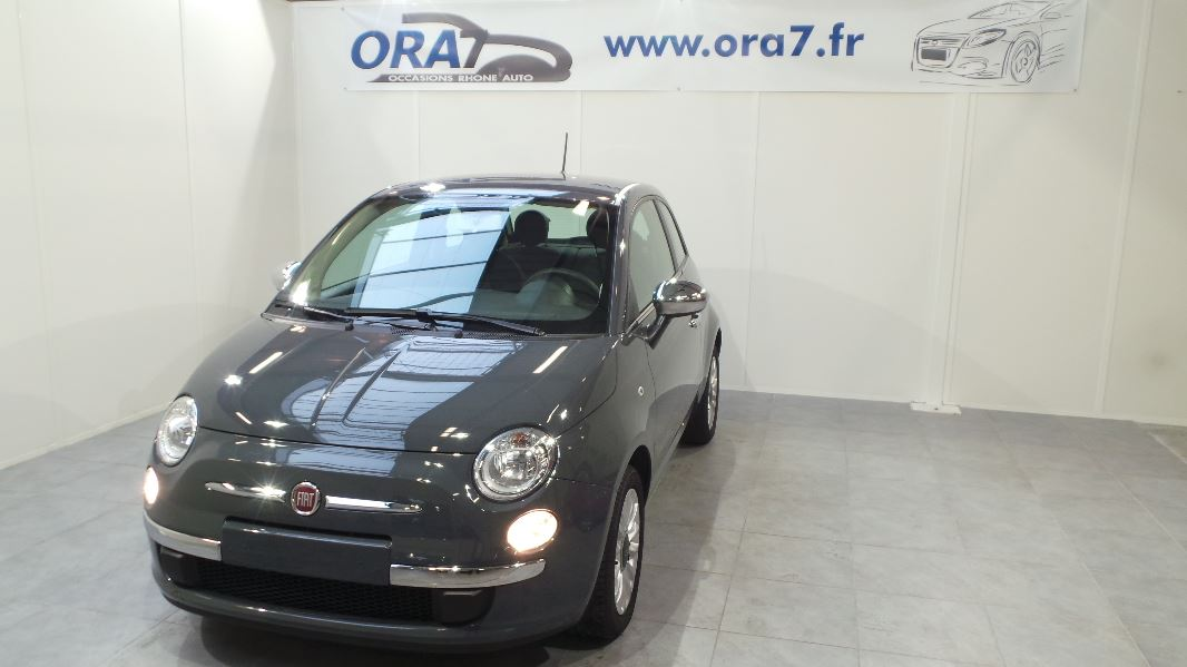 fiat 500 1 2 8v 69ch popstar occasion lyon neuville sur sa ne rh ne ora7. Black Bedroom Furniture Sets. Home Design Ideas
