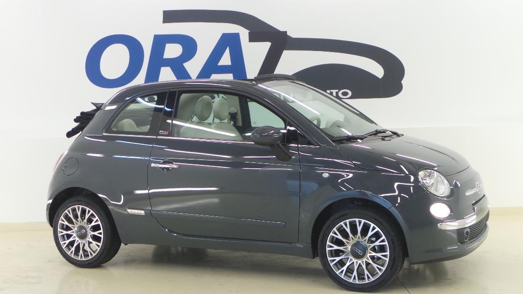 Fiat 500c 1 2 8v 69ch lounge occasion mont limar drome for Garage fiat montelimar