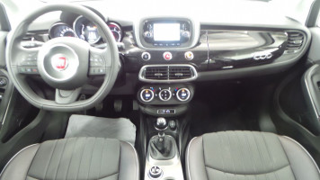 Fiat 500x 1 6 multijet 16v 120ch lounge occasion for Interieur fiat 500x