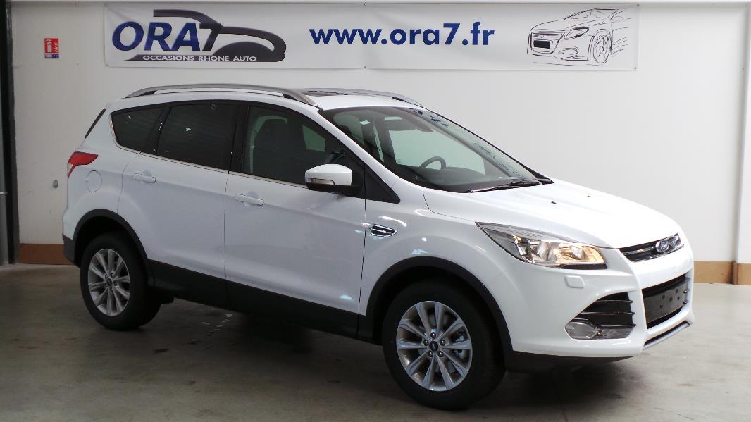 ford kuga 2 0 tdci 150ch fap titanium 4x2 occasion lyon. Black Bedroom Furniture Sets. Home Design Ideas