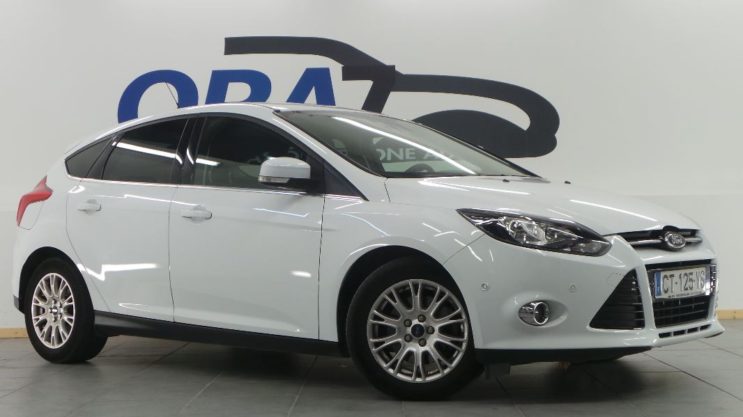 Ford focus 1 6 tdci 115ch fap stop start titanium 5p for Garage ford montelimar