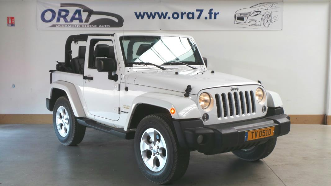 jeep wrangler 2 8 crd 200 fap sahara bva occasion lyon neuville sur sa ne rh ne ora7. Black Bedroom Furniture Sets. Home Design Ideas