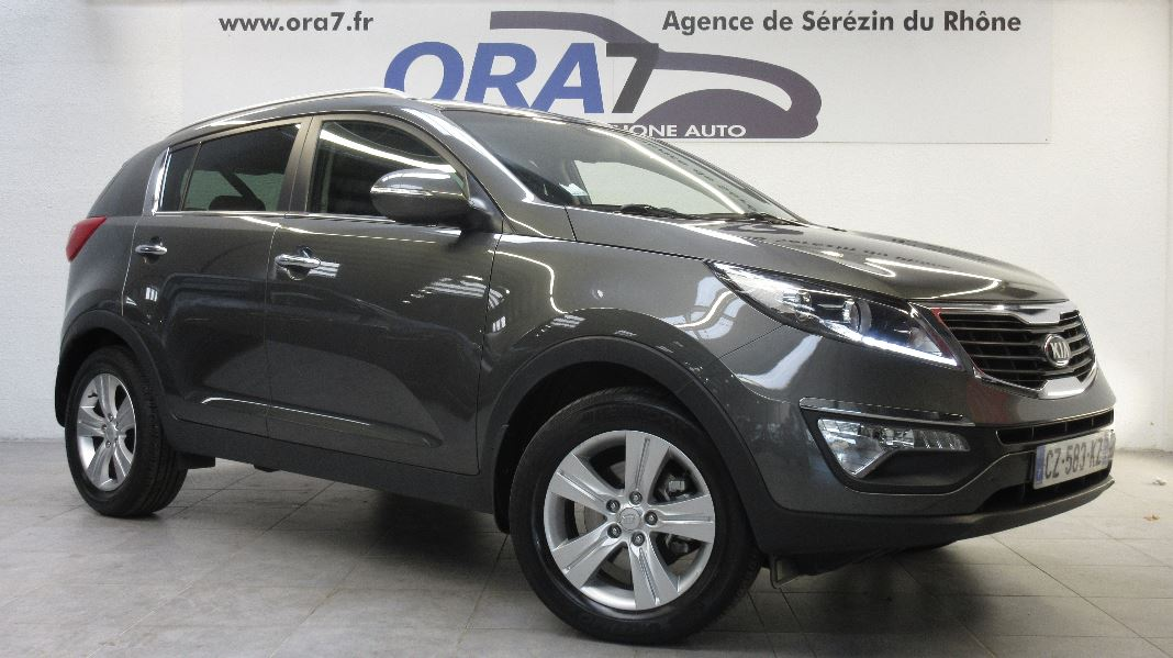 kia sportage 1 7 crdi 115 active isg occasion lyon s r zin rh ne ora7. Black Bedroom Furniture Sets. Home Design Ideas
