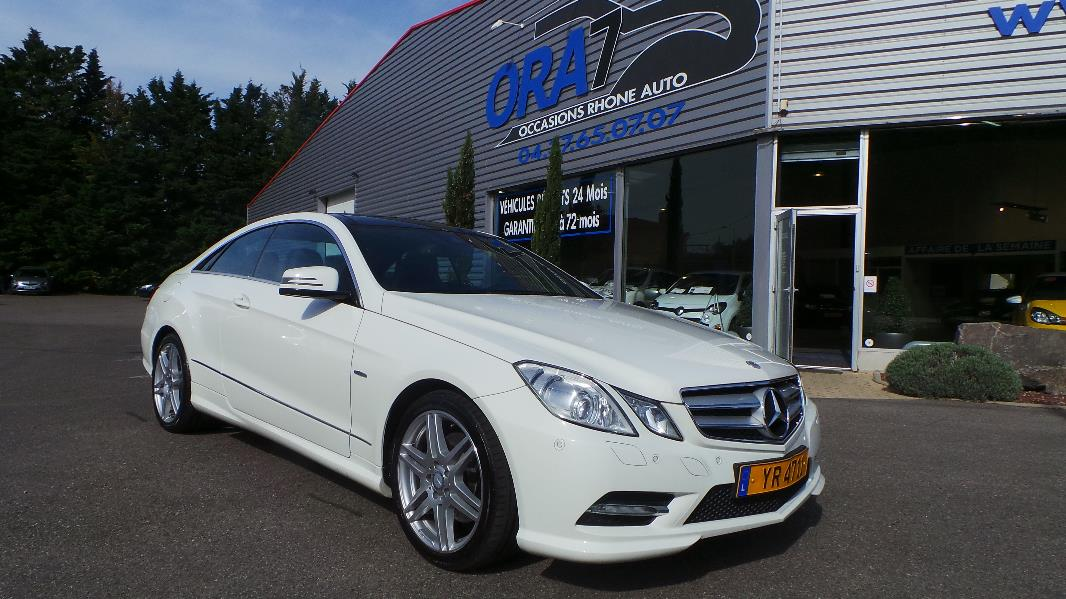 mercedes classe e coupe  c207  250 cdi be executive 7gtro