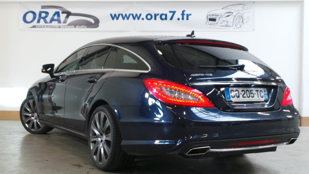 mercedes cls shooting brake x218 350 cdi 4 matic 7g tronic occasion lyon neuville sur. Black Bedroom Furniture Sets. Home Design Ideas