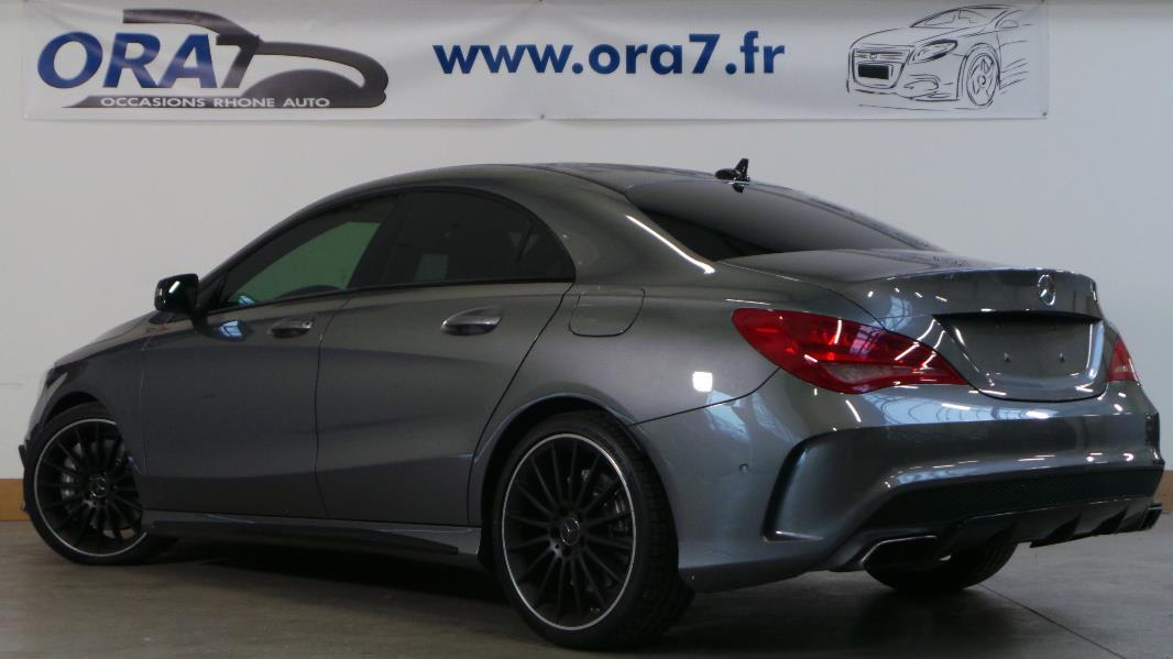 mercedes classe cla c117 45 amg 4matic occasion lyon neuville sur sa ne rh ne ora7. Black Bedroom Furniture Sets. Home Design Ideas