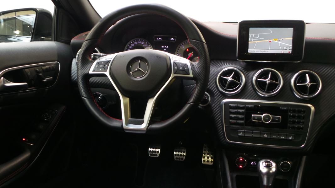 Mercedes classe a w176 200 cdi fascination occasion for Interieur mercedes classe a