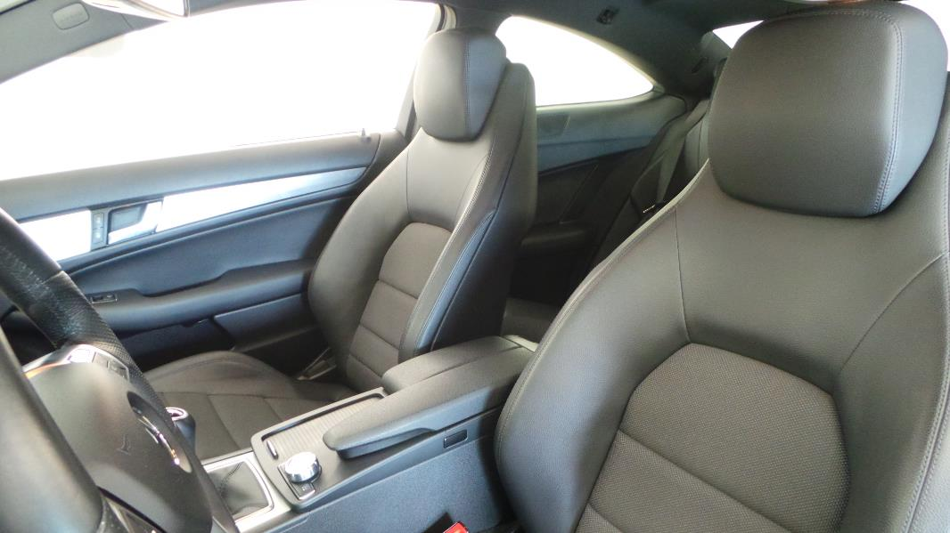 Mercedes classe c coupe 220 cdi fascination occasion for Interieur mercedes classe b