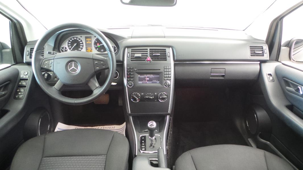 Mercedes classe b t245 160 design cvt occasion for Interieur mercedes classe b
