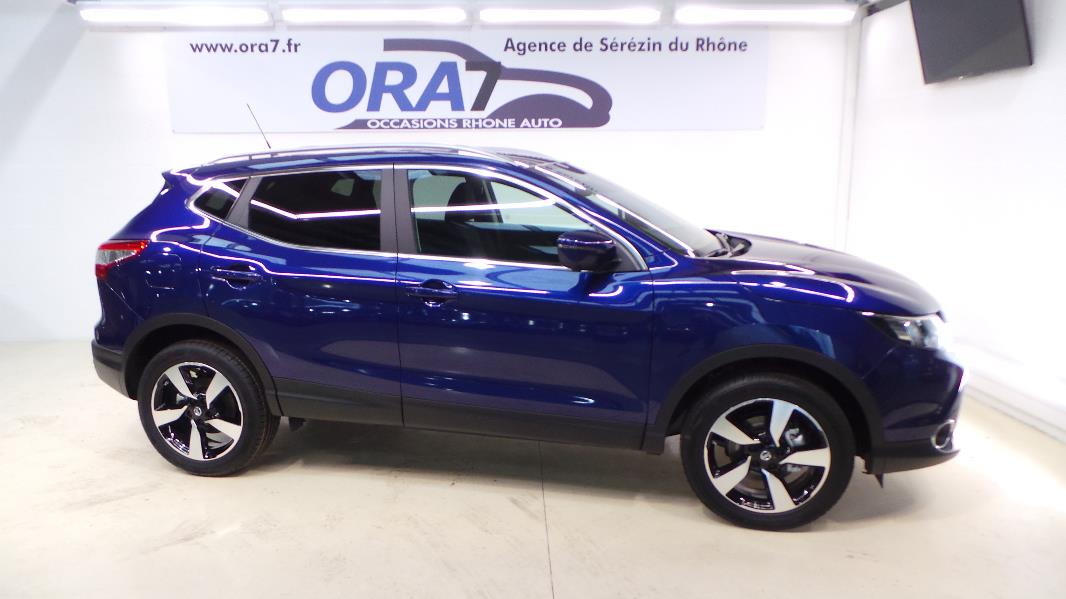 nissan qashqai 1 5 dci 110ch connect edition occasion  u00e0