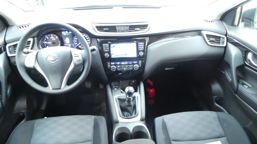 Nissan qashqai 1 6 dci 130ch connect edition occasion for Interieur qashqai 2015