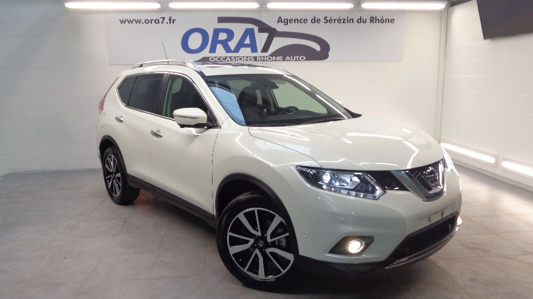 nissan x trail 1 6 dci 130ch all mode 4x4 i tekna 7 places occasion lyon s r zin rh ne ora7. Black Bedroom Furniture Sets. Home Design Ideas