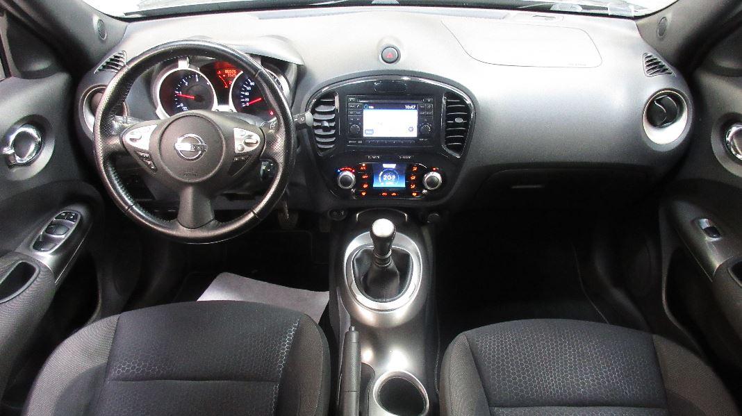 Nissan juke 1 5 dci 110ch fap tekna occasion lyon for Interieur nissan juke