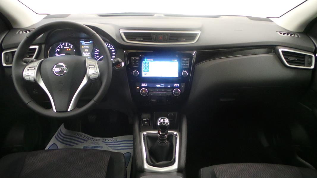 Nissan qashqai dig t 115ch connect edition occasion for Interieur qashqai 2015