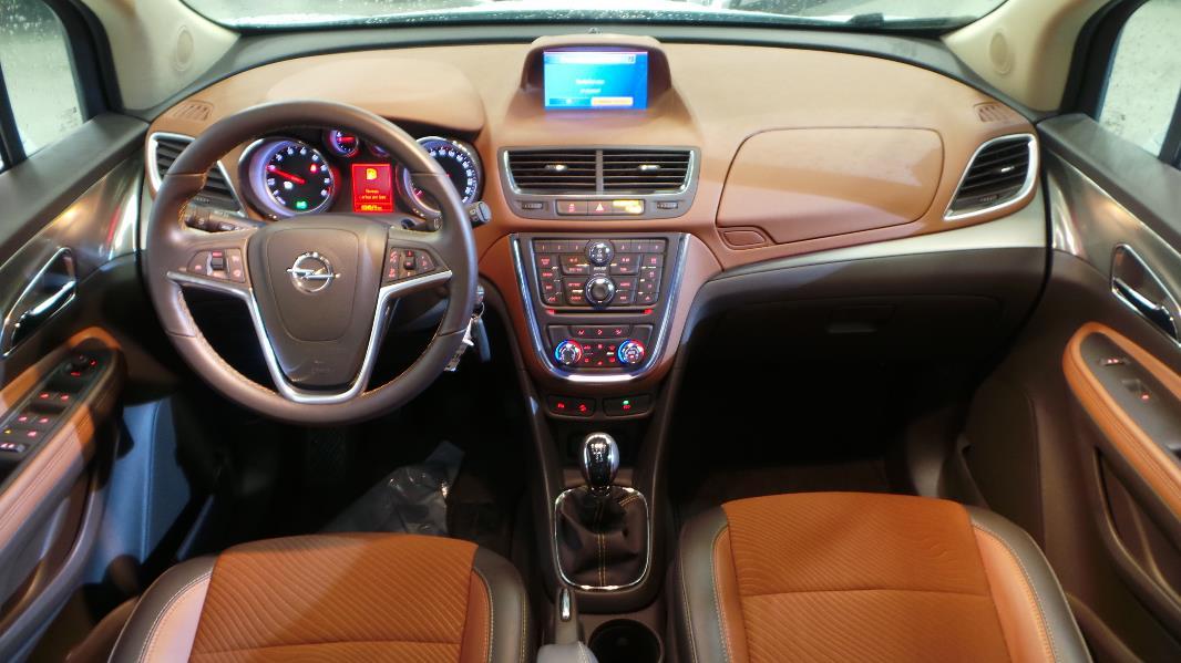 Opel mokka 1 6 115ch cosmo start stop 4x2 occasion lyon for Opel mokka x interieur