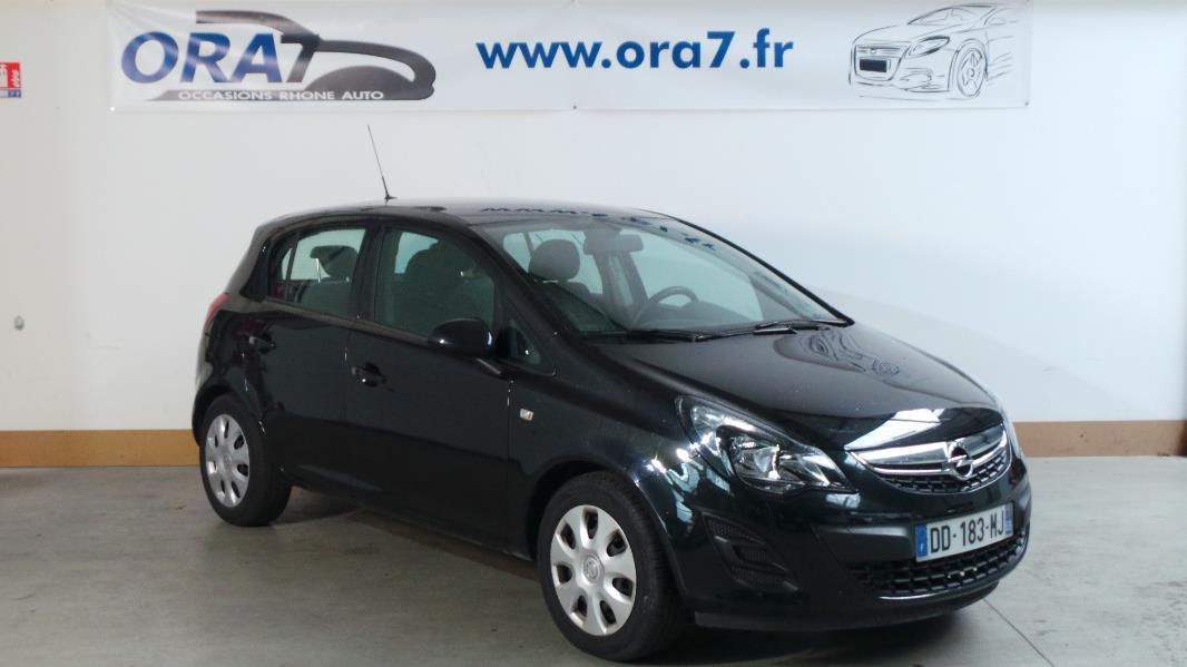 opel corsa 1 2 twinport 85ch graphite 5p occasion lyon. Black Bedroom Furniture Sets. Home Design Ideas