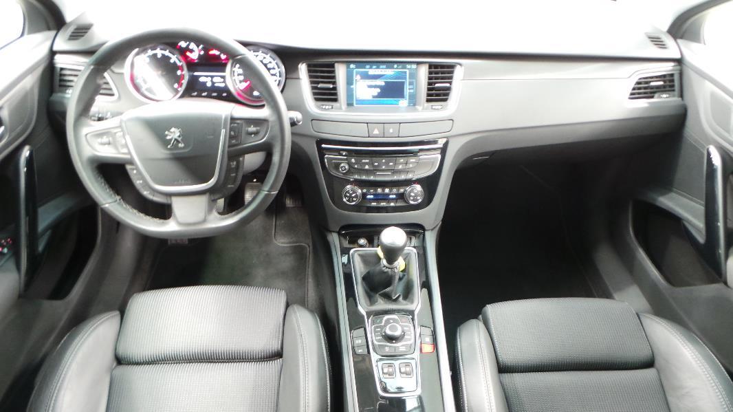 Peugeot 508 sw 2 0 hdi160 fap allure occasion lyon for Interieur 508 sw