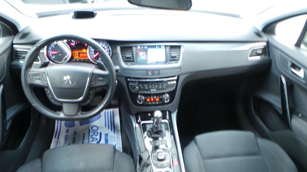 Peugeot 508 sw 2 0 hdi163 fap active ba occasion lyon for Interieur 508 sw