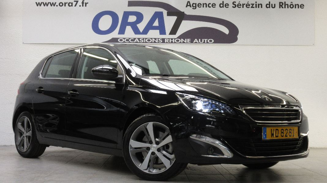 peugeot 308 2 0 bluehdi fap 150ch allure eat6 5p occasion
