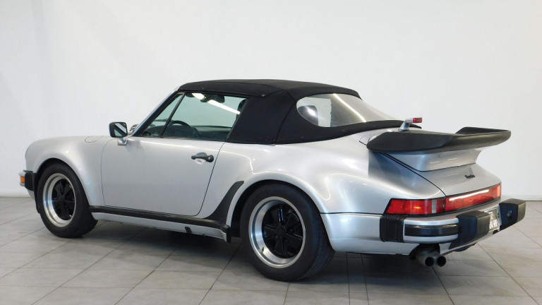 PORSCHE 911 TYPE 930 CABRIOLET 930 TURBO CABRIOLET MATCHING COLOR ET NUMBERS