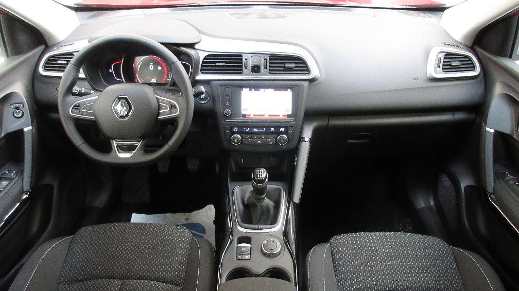 Renault kadjar dci 130 energy zen 4wd occasion lyon for Interieur renault kadjar