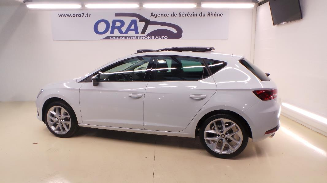 seat leon 2 0 tdi 150ch fap fr start stop occasion lyon s r zin rh ne ora7. Black Bedroom Furniture Sets. Home Design Ideas