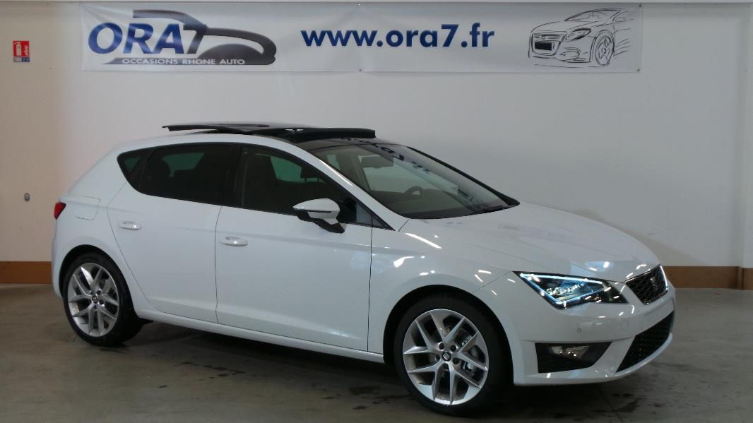 seat leon 2 0 tdi 150ch fap fr start stop occasion lyon. Black Bedroom Furniture Sets. Home Design Ideas
