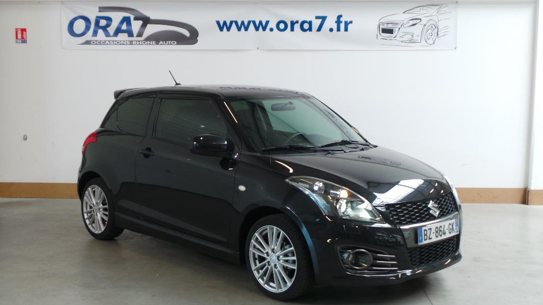 suzuki swift 1 6 vvt sport 3p occasion lyon neuville sur sa ne rh ne ora7. Black Bedroom Furniture Sets. Home Design Ideas
