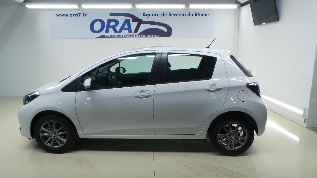 toyota yaris 69 vvt i dynamic 5p occasion lyon s r zin rh ne ora7. Black Bedroom Furniture Sets. Home Design Ideas