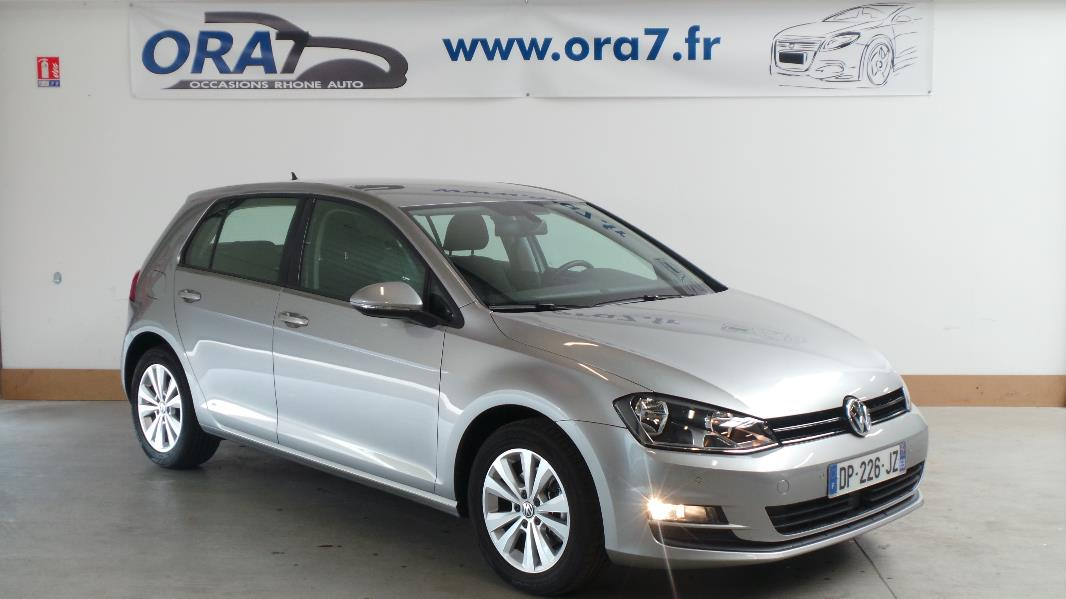 volkswagen golf 7 2 0 tdi 150 fap bluemotion technology confortline occasion lyon neuville sur. Black Bedroom Furniture Sets. Home Design Ideas