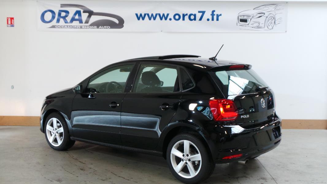 Volkswagen polo 1 2 tsi 90ch confortline 5p occasion for Garage volkswagen occasion lyon
