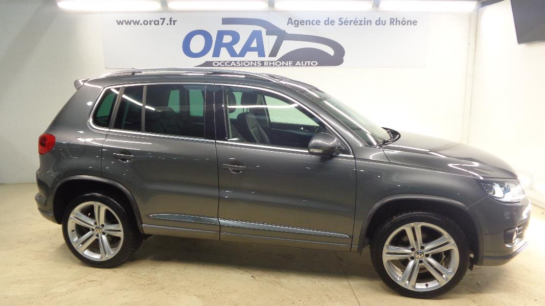 volkswagen tiguan 2 0 tdi 177ch fap bluemotion technology carat 4mot occasion lyon s r zin. Black Bedroom Furniture Sets. Home Design Ideas