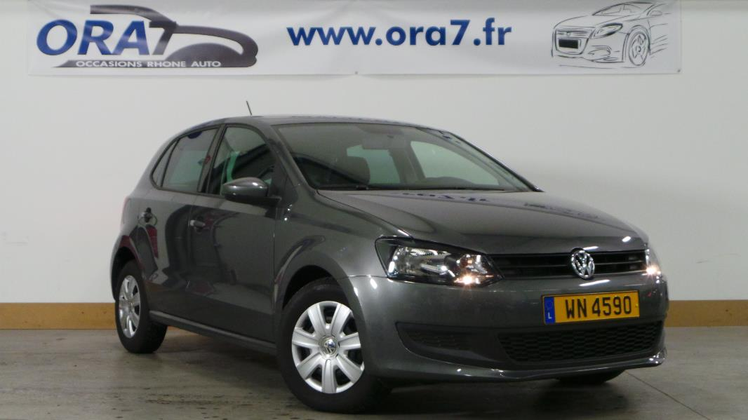 volkswagen polo 1 6 tdi90 fap bluemotion technology trendline 5p occasion lyon neuville sur. Black Bedroom Furniture Sets. Home Design Ideas