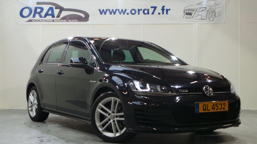 volkswagen golf 7 2 0 tdi 184 fap bluemotion technology. Black Bedroom Furniture Sets. Home Design Ideas